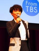 TBS系金曜ドラマ『あなたには帰る家がある』特別試写会に出席したユースケ・サンタマリア (C)ORICON NewS inc.