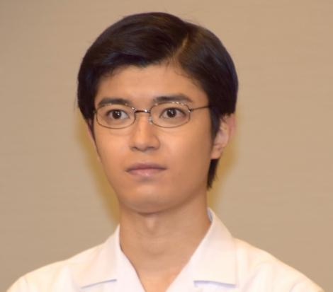 物理学をウィキペディアで調べた高田翔=舞台『雲のむこう、約束の場所』の製作記者会見 (C)ORICON NewS inc.