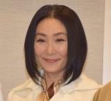 浅野温子=舞台『雲のむこう、約束の場所』の製作記者会見 (C)ORICON NewS inc.