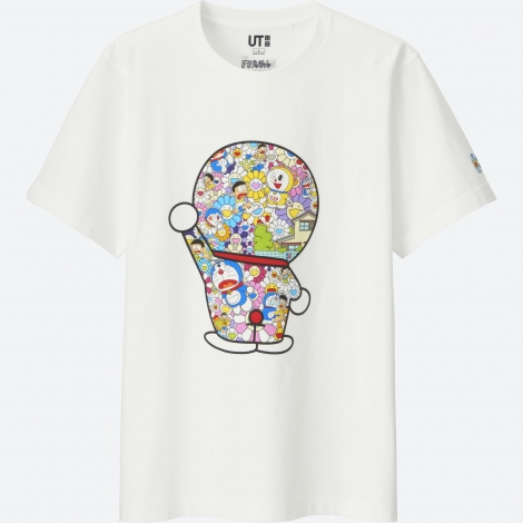 サムネイル UT×村上隆×ドラえもん コラボTシャツ?2017 Takashi Murakami/Kaikai Kiki Co.,Ltd.All Rights Reserved.  ?Fujiko-Pro