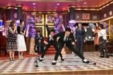 9日放送の日本テレビ系バラエティー番組『しゃべくり007 2時間SP』に女子団体パシュート日本代表4人が登場 (C)日本テレビ