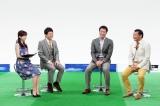 上原投手がサッカー番組で語る(C)テレビ東京