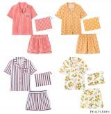 ピーチ・ジョン 春夏の新作ルームウエアコレクション『サマーシャツパジャマ』(税抜5480円)