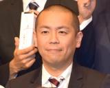 テレビ朝日の入社式に出席したトシ(C)ORICON NewS inc.
