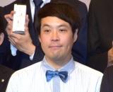 テレビ朝日の入社式に出席したタカアンドトシ・トシ(C)ORICON NewS inc.