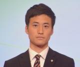 テレビ朝日の新入社員・柳下圭佑さん=テレビ朝日の入社式 (C)ORICON NewS inc.