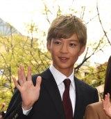 TBS系連続ドラマ『花のち晴れ〜花男 Next Season〜』試写会後舞台あいさつに登壇した鈴木仁 (C)ORICON NewS inc.