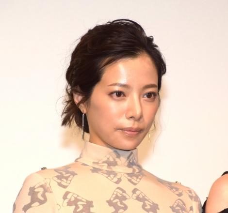 映画『娼年』の公開記念舞台あいさつに登壇した桜井ユキ (C)ORICON NewS inc.