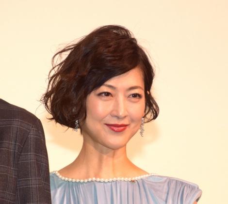 映画『娼年』の公開記念舞台あいさつに登壇した馬渕英里何 (C)ORICON NewS inc.