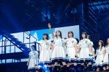 初日・2日目に披露した「世界には愛しかない」は守屋茜がセンター=『欅坂46 2nd YEAR ANNIVERSARY LIVE』より