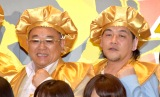 コンビ仲の秘訣を語ったサンドウィッチマン(左から)伊達みきお、富澤たけし (C)ORICON NewS inc.