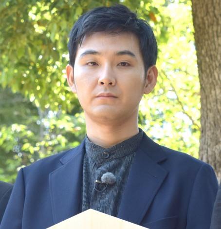 映画『泣き虫しょったんの奇跡』のヒット祈願を行った松田龍平 (C)ORICON NewS inc.