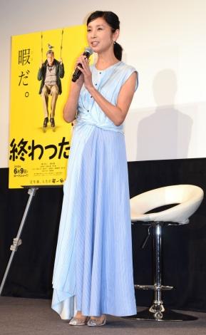 映画『終わった人』のサラリーマン・OL限定試写会に出席した黒木瞳 (C)ORICON NewS inc.