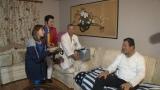 (左から)矢口真理、濱口優、西村瑞樹、藤波辰爾=TBS『出川のリアルガチバトル』(C)TBS