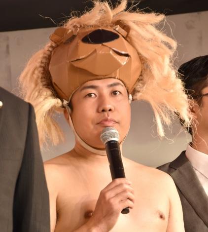 最新プリントシール機『HIKARI2』お露目会見に出席した大西ライオン (C)ORICON NewS inc.