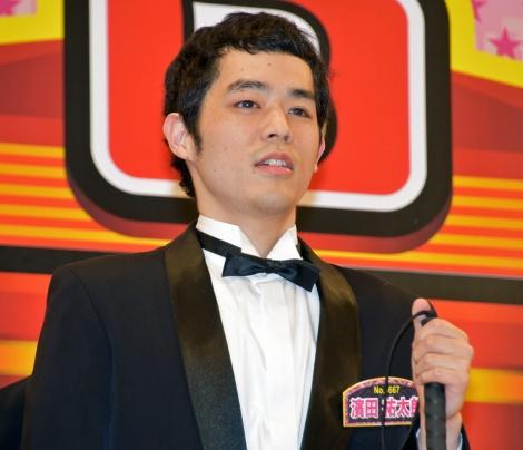 盲目の漫談家・濱田祐太郎=『R-1ぐらんぷり』決勝進出 (C)ORICON NewS inc.