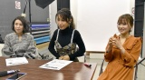 『めちゃイケ』への思いを語った(左から)雛形あきこ、鈴木紗理奈、重盛さと美(C)ORICON NewS inc.