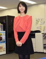 ORICON NEWS本社を訪問した竹内愛紗 (C)ORICON NewS inc.