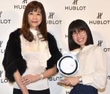 『HUBLOT LOVES WOMEN AWARD for Entrepereneurship 2018』で優勝したたかまつなな(右) (C)ORICON NewS inc.