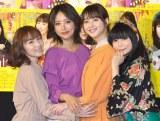 (左から)徳永えり、夏菜、佐々木希、中川翔子 (C)ORICON NewS inc.