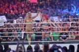 シャーロット・フレアーに挑戦したアスカ(C)2018 WWE, Inc. All Rights Reserved.