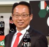 『ウチのコークは世界一「コカ・コーラ」FIFA ワールドカップキャンペーン』のPRイベントに出席した (C)ORICON NewS inc.