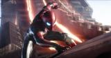 アイアンマンから贈られた新スーツに身を包み最凶の敵サノスに立ち向かう (C)2018MARVEL