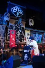 江戸東京博物館で行われた『再オープン記念WEEK「EDO→TOKYO VISION」江戸東京の歴史・文化とつながる一週間』スペシャルライブ