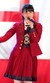 センターの本間日陽=NGT48 3rdシングル「春はどこから来るのか?」発売記念イベント (C)ORICON NewS inc.