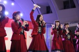 オリコンデイリーランキング1位を獲得したことを発表した北原里英=NGT48 3rdシングル「春はどこから来るのか?」発売記念イベントの模様