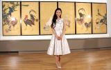 特別展「名作誕生−つながる日本美術」の内覧会に出席した壇蜜 (C)ORICON NewS inc.