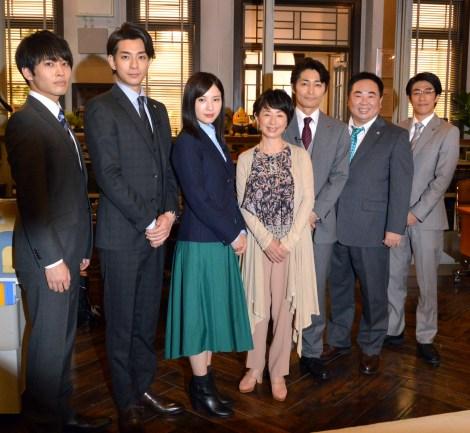吉高由里子主演の日本テレビ系連続ドラマ『正義のセ』 (C)日本テレビ