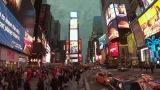 NHK総合の新番組『世界はほしいモノにあふれてる 旅するバイヤー 極上リスト』4月19日放送、米ニューヨーク・タイムズスクエア(C)NHK