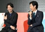 ドラマ『モンテ・クリスト伯-華麗なる復讐-』の製作発表に出席した(左から)大倉忠義、ディーン・フジオカ (C)ORICON NewS inc.