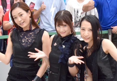 Kalafina(左から)Wakana、Keiko、Hikaru (C)ORICON NewS inc.