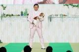 春日とダンスパートナー・キャバリアのハルちゃん(C)テレビ東京