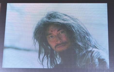 ひげも髪も伸ばしっぱなし!ディーン・フジオカの囚人姿=ドラマ『モンテ・クリスト伯-華麗なる復讐-』の製作発表 (C)ORICON NewS inc.