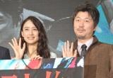 (左から)山本美月、新井浩文 (C)ORICON NewS inc.