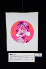 田アキ子とコラボレーションしたアートホビー販売会が開催 写真:Ryuya Amao
