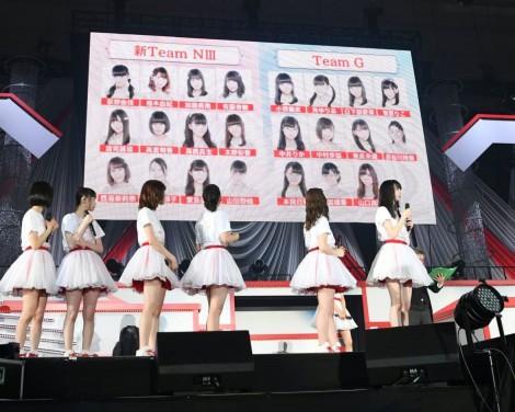 初の組閣で2チーム体制となるNGT48