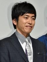 映画『海辺の週刊大衆』初日舞台あいさつに出席したしずる・村上純 (C)ORICON NewS inc.