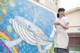 連続テレビ小説『半分、青い。』第2週・第12回より。ヒロインの楡野鈴愛(永野芽郁)(C)NHK