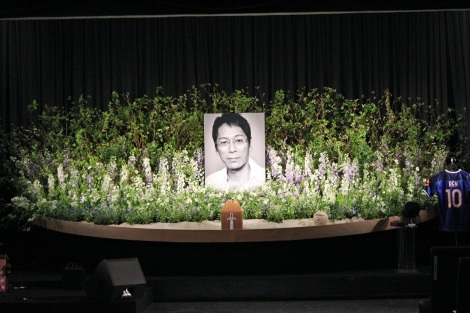 大杉漣さんお別れ会「さらば!ゴンタクレ」祭壇 (C)ORICON NewS inc.