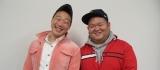 ANZEN漫才として初のラジオ番組『みやぞん&あらぽん ANZENラジオ!』NHKラジオ第1で5月4日放送(C)NHK
