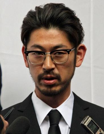 大杉漣さんを見送った長男・隼平氏 (C)ORICON NewS inc.