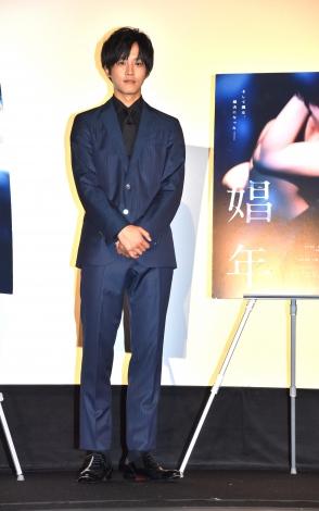 映画『娼年』女性限定上映会後の舞台あいさつに登壇した松坂桃李 (C)ORICON NewS inc.
