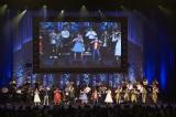 観客と一緒に「リメンバー・ミー」を歌って踊るスペシャルステージ=『フレンズ・オブ・ディズニー・コンサート2018』(C)Disney
