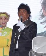 『クロレッツ』のスッキリガム総選挙に出席した松崎しげる (C)ORICON NewS inc.