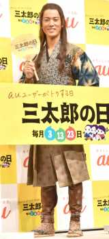 au『三太郎の日』新CM発表会に出席した桐谷健太 (C)ORICON NewS inc.