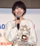『第46回 ベストドレッサー賞』の芸能部門を受賞した波瑠 (C)ORICON NewS inc.